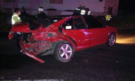 Durante la madrugada se registró un accidente sobre el boulevard de Banderilla