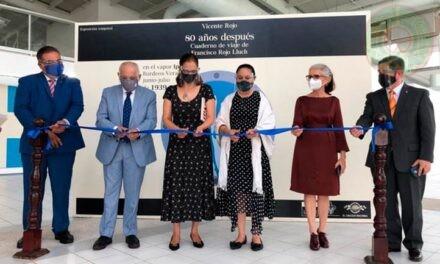 Exposición itinerante de Vicente Rojo llegó a la USBI Veracruz