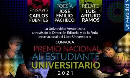 Convocan al Premio Nacional al Estudiante Universitario 2021