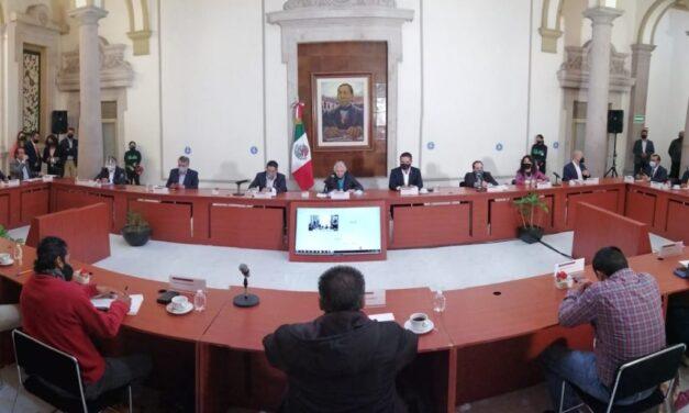 Liberan vía ferroviaria en Michoacán tras reunión con Olga Sánchez Cordero