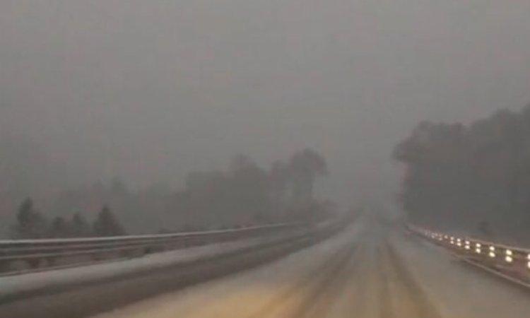 Cierran estas carreteras en Durango por caída de nieve