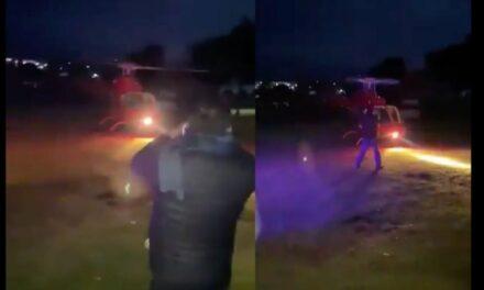 Video: Muere empresario tequilero tras golpearse con hélice de helicóptero