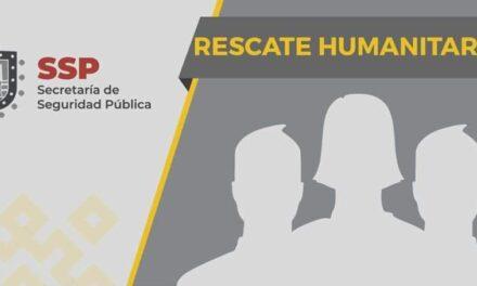 Rescata SSP a 31 migrantes en Agua Dulce