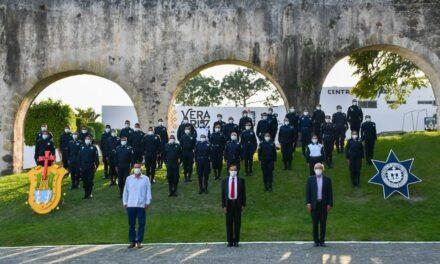Gradúa SSP a 201 elementos de policías municipales para el fortalecimiento de la seguridad pública en el estado.