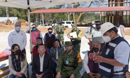 Cuartel de la Guardia Nacional en la colonia Emiliano Zapata de Xalapa estaría listo el próximo 31 de enero de 2021
