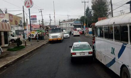 Accidente de tránsito sobre la avenida Chedraui Caram, a la altura de la farmacia del ahorro