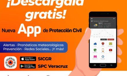 Presentan aplicación móvil de Protección Civil en Veracruz