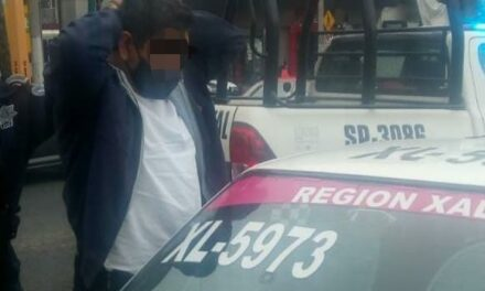 Detienen a taxista, presuntamente llevaba una niña secuestrada en Xalapa