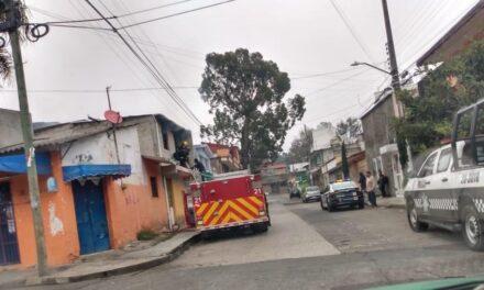 Se registra incendio en la colonia Tamborrel, en Xalapa