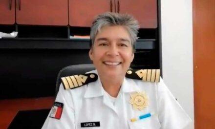 La veracruzana Capitana Ana Laura López Bautista nueva titular de Puertos y Marina Mercante