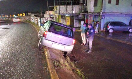 Accidente sobre el bulevar Xalapa Banderilla