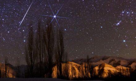 La lluvia de meteoros de las Úrsidas alcanza su punto máximo esta semana alrededor del solsticio de invierno