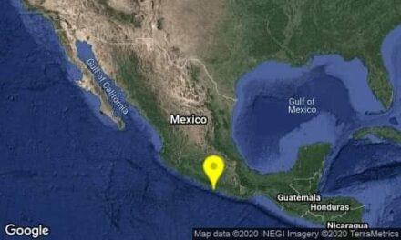 Se registran sismos de magnitud 4.7 en Acapulco y uno de 4.5 en Chiapas