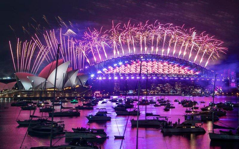 Video: Se acabó el 2020! Recibe Sídney el Año Nuevo