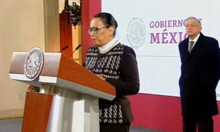 No soy nueva en esto', asegura Rosa Icela Rodríguez, titular de SSPC