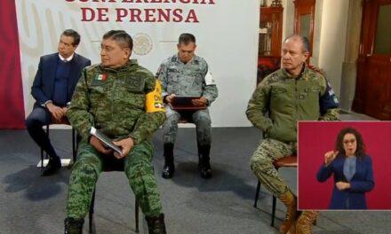 Agradece AMLO el apoyo y la lealtad de las Fuerzas Armadas