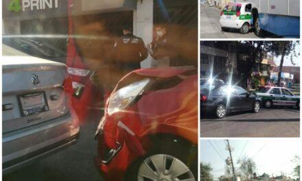 5 accidentes de tránsito durante la mañana de este martes de quincena en Xalapa