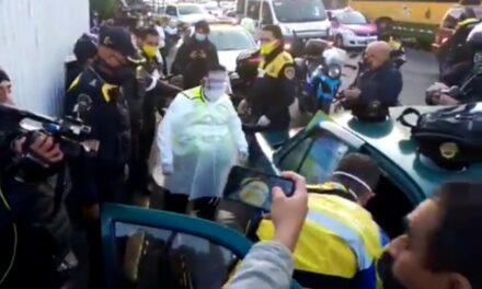 Policías y paramédicos auxiliaron a mujer en labor de parto en la CDMX