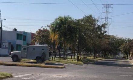 Operativo en el fraccionamiento Floresta de Veracruz, por supuesto artefacto explosivo