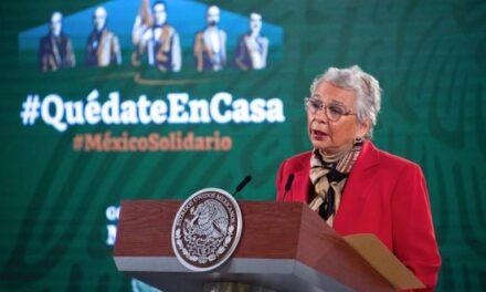 El presidente no ha sido vacunado contra COVID-19, aclara Sánchez Cordero