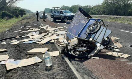 Accidente en la autopista Veracruz-Córdoba