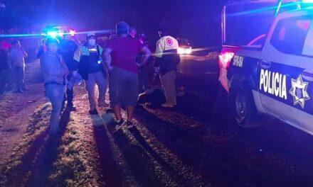 Señora muere atropellada en la carretera federal de San Rafael, era habitante de la comunidad Sementeras