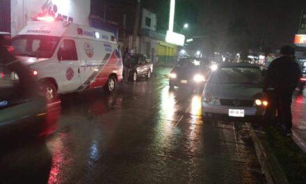 Dos choques en la carretera Xalapa-Coatepec