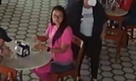 Video: Roban bolsa a comensal en el restaurante La Parroquia de Veracruz