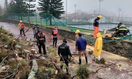 PC Municipal reporta saldo blanco por lluvia en Xalapa