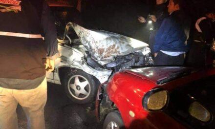 Accidente en la carretera Xalapa-Coatepec, a la altura de Río Sordo