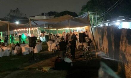 Suspenden fiesta de XV años en Minatitlán, había más de 300 invitados