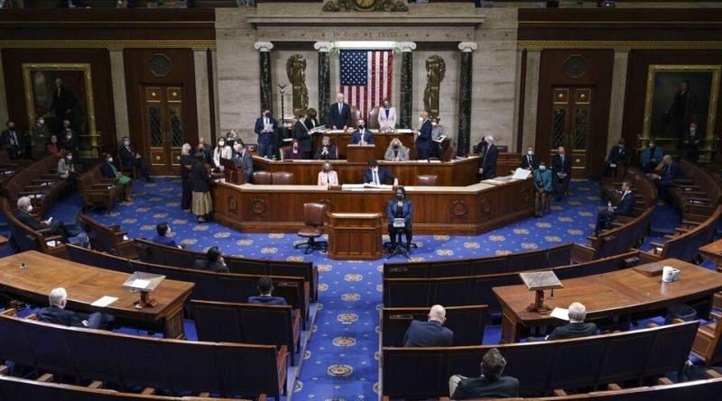 Vota Cámara de Representantes de EU juicio político contra Donald Trump