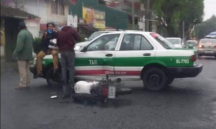 Accidente de tránsito sobre la avenida Miguel Alemán, Xalapa