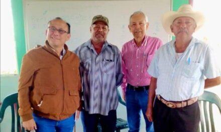 Reunión de cordinación y planeación entre la organización Ejidal Heron proal y los integrantes de la AC y junta de pobladores.