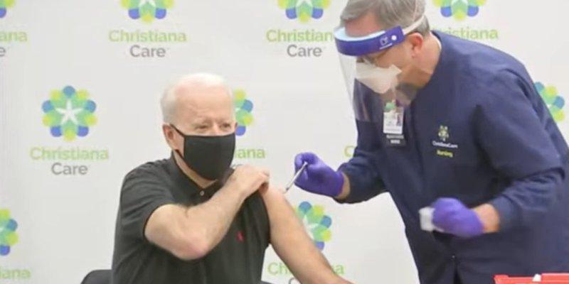Biden recibe 2da dosis de vacuna vs COVID-19 desarrollada por Pfizer