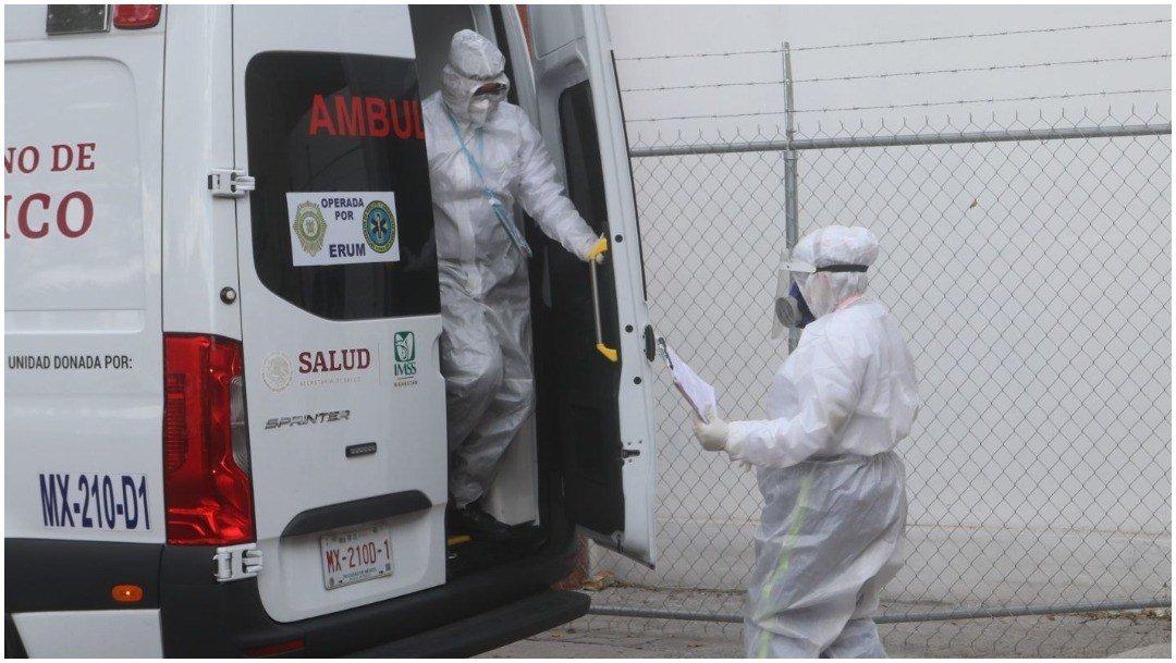 Muere en Nuevo León posible portador de nueva cepa de COVID-19