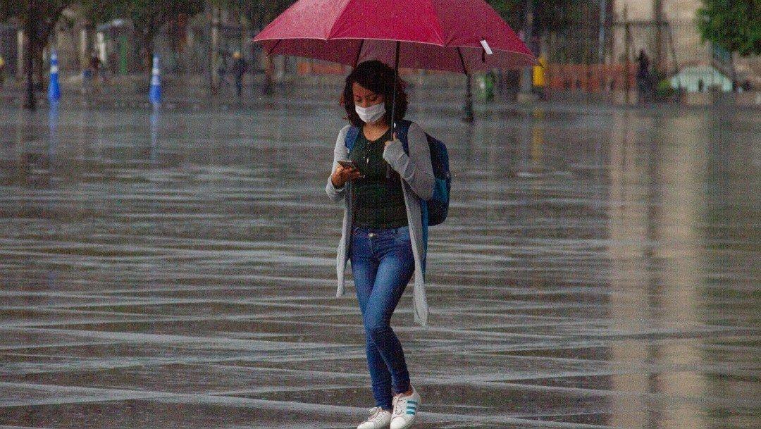 Además de bajas temperaturas, habrán lluvias fuertes con descargas eléctricas en estos estados