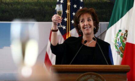 Roberta Jacobson será designada coordinadora para frontera con México
