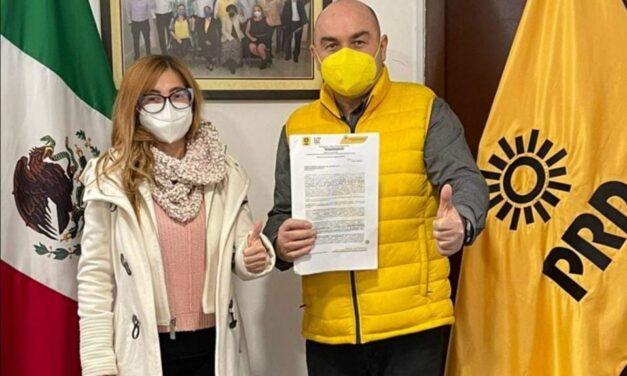 Se registra Alejandro de la Madrid como precandidato del PRD a la Diputación Local