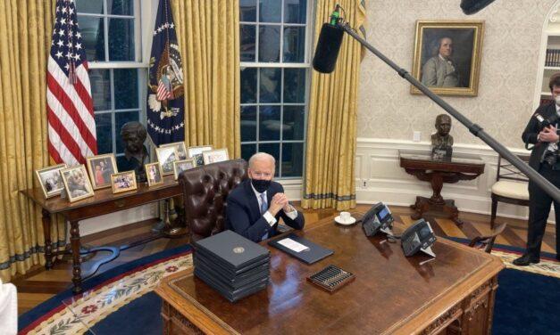Esto dijo en su primer discurso como Presidente Joe Biden