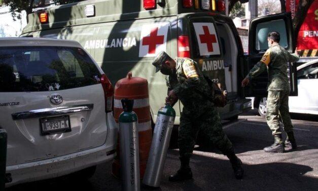 Intentan robar más de 40 tanques de oxígeno en Ecatepec destinados a pacientes con Covid-19