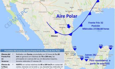 Comunidad Veracruzana: Alerta Gris por FF32-Lluvia-Norte.
