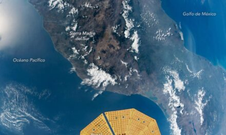 La NASA capturo casi todo el territorio mexicano en una toma.