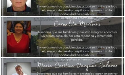 A pocos días de iniciar el año, 3 trabajadores del CAE han fallecido por covid-19