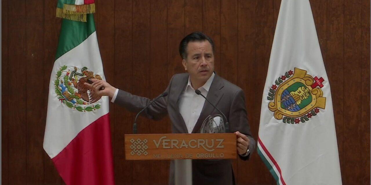El gobernador emite alerta preventiva por aumento de casos de COVID-19 en Veracruz.