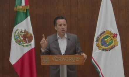 Gobernador de Veracruz, pide a la sociedad extreme precauciones para detener la aceleración de contagios