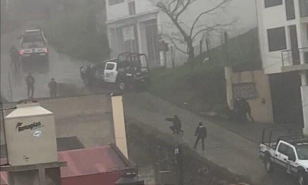 Video:Se registra enfrentamiento en la avenida Murillo Vidal en Xalapa