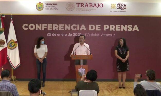 Gobernador de Veracruz y Luisa María Alcalde, dan a conocer los avances y retos de la implementación del Sistema de Justicia Laboral en Veracruz