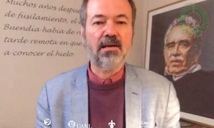 """Juan Villoro inauguró el curso """"Gabriel García Márquez: de la crónica a la ficción"""""""