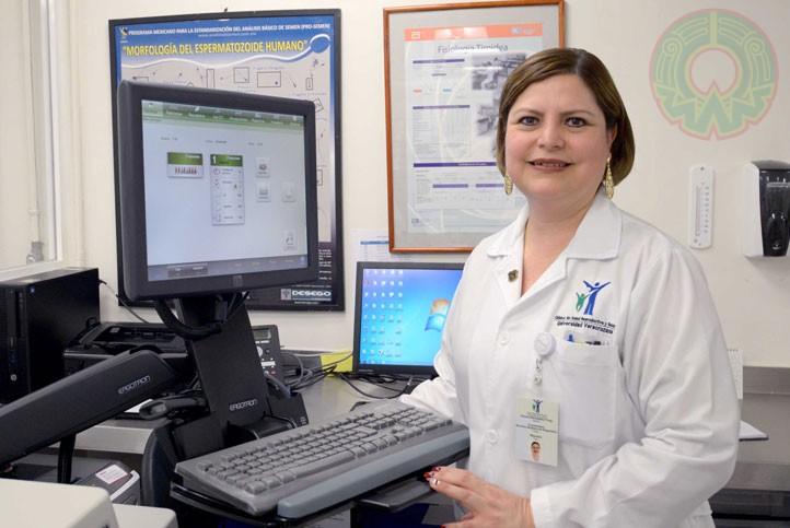 Cirenia Hernández Trejo, coordinadora de los Servicios Auxiliares de Diagnóstico de la CUSRS (foto de archivo)